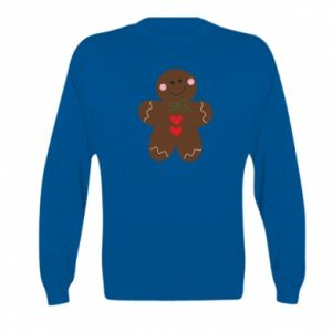 Kid's sweatshirt Gingerbread Man