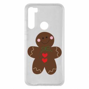 Xiaomi Redmi Note 8 Case Gingerbread Man