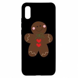 Xiaomi Redmi 9a Case Gingerbread Man