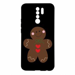 Xiaomi Redmi 9 Case Gingerbread Man