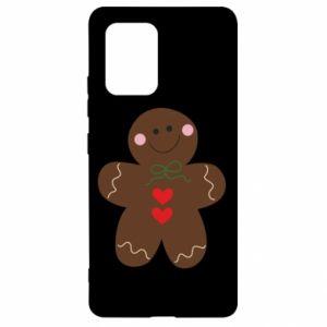Samsung S10 Lite Case Gingerbread Man