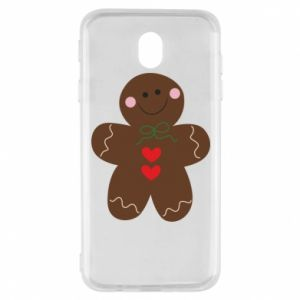 Samsung J7 2017 Case Gingerbread Man