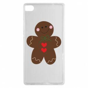 Huawei P8 Case Gingerbread Man