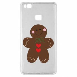 Huawei P9 Lite Case Gingerbread Man