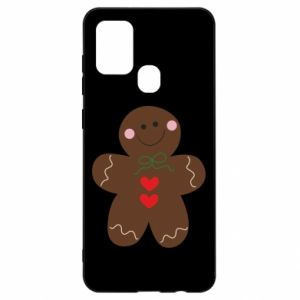 Samsung A21s Case Gingerbread Man