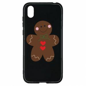 Huawei Y5 2019 Case Gingerbread Man