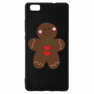 Huawei P8 Lite Case Gingerbread Man