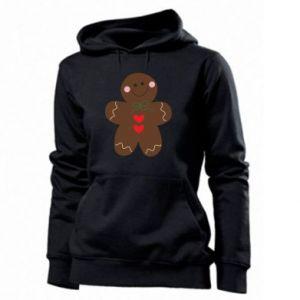 Women's hoodies Gingerbread Man