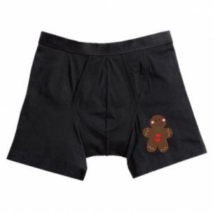 Boxer trunks Gingerbread Man