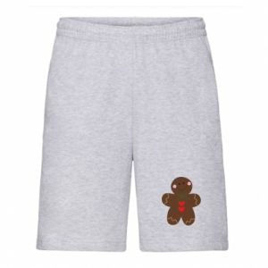 Men's shorts Gingerbread Man