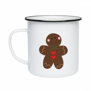 Enameled mug Gingerbread Man