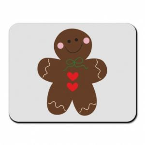Mouse pad Gingerbread Man