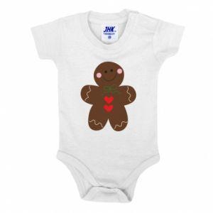 Baby bodysuit Gingerbread Man