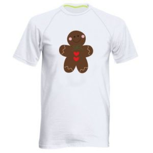 Men's sports t-shirt Gingerbread Man