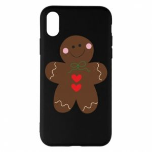 Phone case for iPhone X/Xs Gingerbread Man
