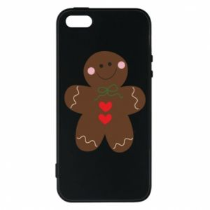 Phone case for iPhone 5/5S/SE Gingerbread Man