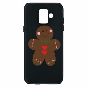 Phone case for Samsung A6 2018 Gingerbread Man