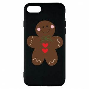 Phone case for iPhone 8 Gingerbread Man