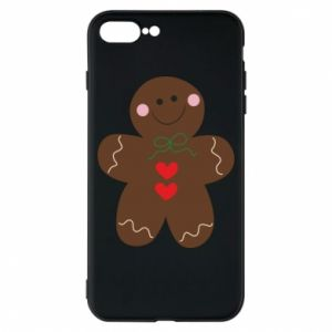 Phone case for iPhone 8 Plus Gingerbread Man