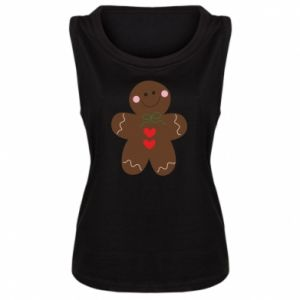 Women's t-shirt Gingerbread Man