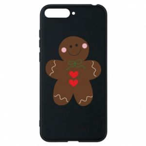 Phone case for Huawei Y6 2018 Gingerbread Man