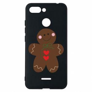 Phone case for Xiaomi Redmi 6 Gingerbread Man