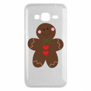 Phone case for Samsung J3 2016 Gingerbread Man