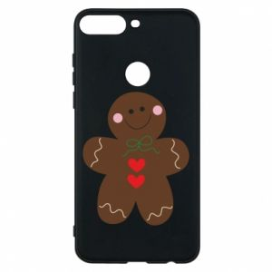 Phone case for Huawei Y7 Prime 2018 Gingerbread Man