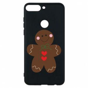 Huawei Y7 Prime 2018 Case Gingerbread Man