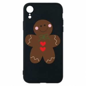 Phone case for iPhone XR Gingerbread Man