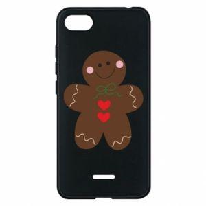 Xiaomi Redmi 6A Case Gingerbread Man
