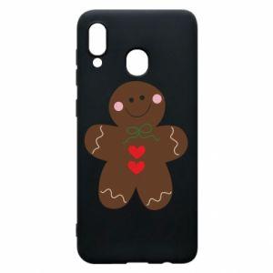 Samsung A20 Case Gingerbread Man