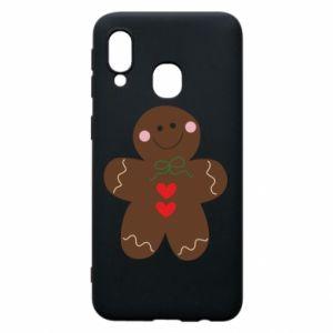 Samsung A40 Case Gingerbread Man