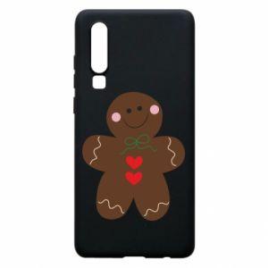 Huawei P30 Case Gingerbread Man