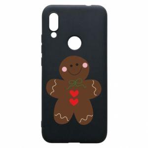 Phone case for Xiaomi Redmi 7 Gingerbread Man