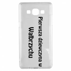 Samsung A5 2015 Case The first girl in Walbrzych
