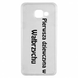 Samsung A3 2016 Case The first girl in Walbrzych