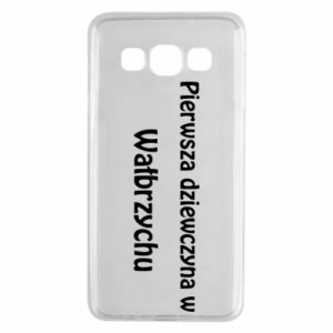 Samsung A3 2015 Case The first girl in Walbrzych