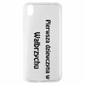 Huawei Y5 2019 Case The first girl in Walbrzych
