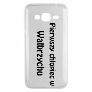 Phone case for Samsung J3 2016 The first boy in Walbrzych