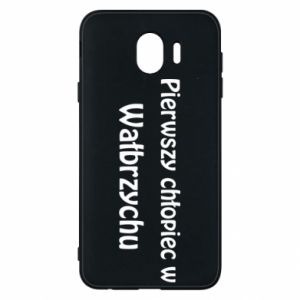 Phone case for Samsung J4 The first boy in Walbrzych
