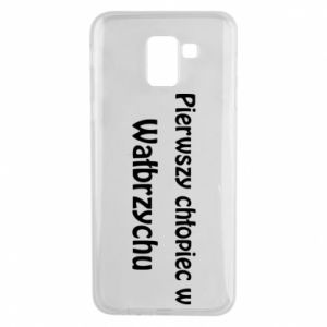 Phone case for Samsung J6 The first boy in Walbrzych