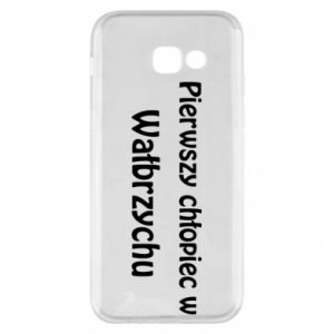 Phone case for Samsung A5 2017 The first boy in Walbrzych