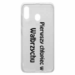Phone case for Samsung A20 The first boy in Walbrzych