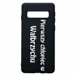 Phone case for Samsung S10 The first boy in Walbrzych