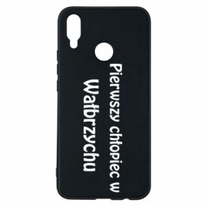 Phone case for Huawei P Smart Plus The first boy in Walbrzych