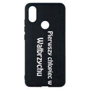 Phone case for Xiaomi Mi A2 The first boy in Walbrzych