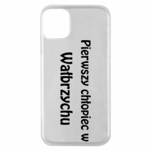 Phone case for iPhone 11 Pro The first boy in Walbrzych