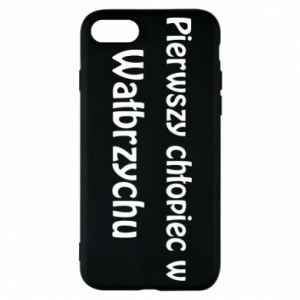 Phone case for iPhone 8 The first boy in Walbrzych