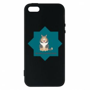 Phone case for iPhone 5/5S/SE Dog